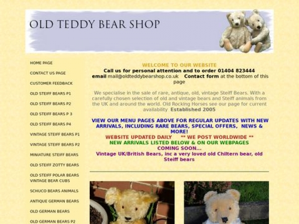 oldteddybearshop.co.uk
