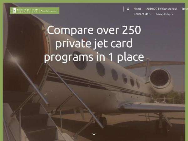 privatejetcardcomparisons.com