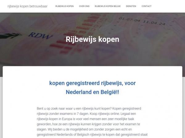 rijbewijskopen-betrouwbaar.com